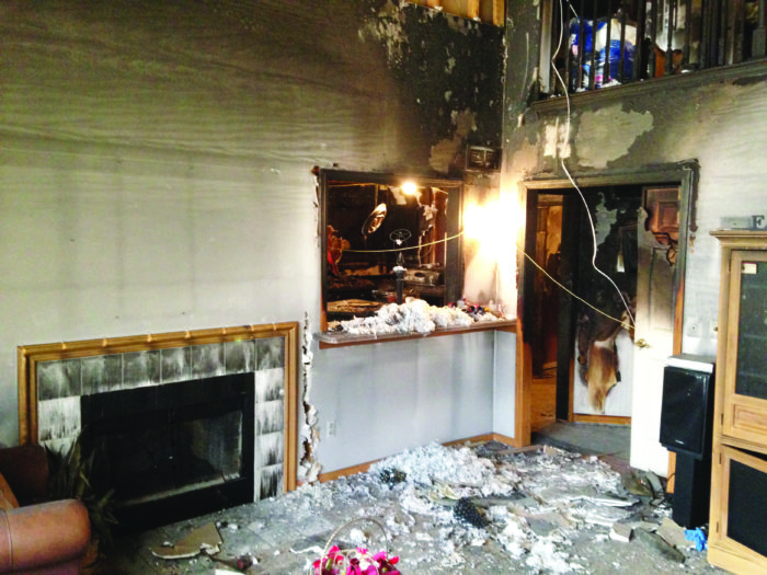 Canton Home Fire Restoration Project Zolman