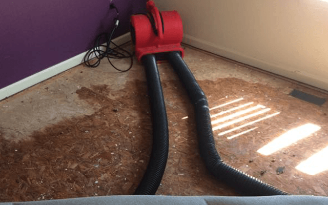 water damage repair equipment