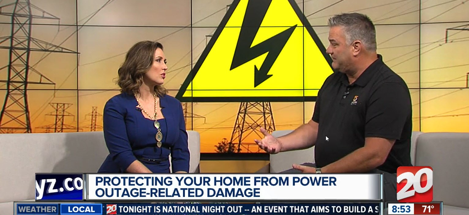 power outage-related damage prevention tips