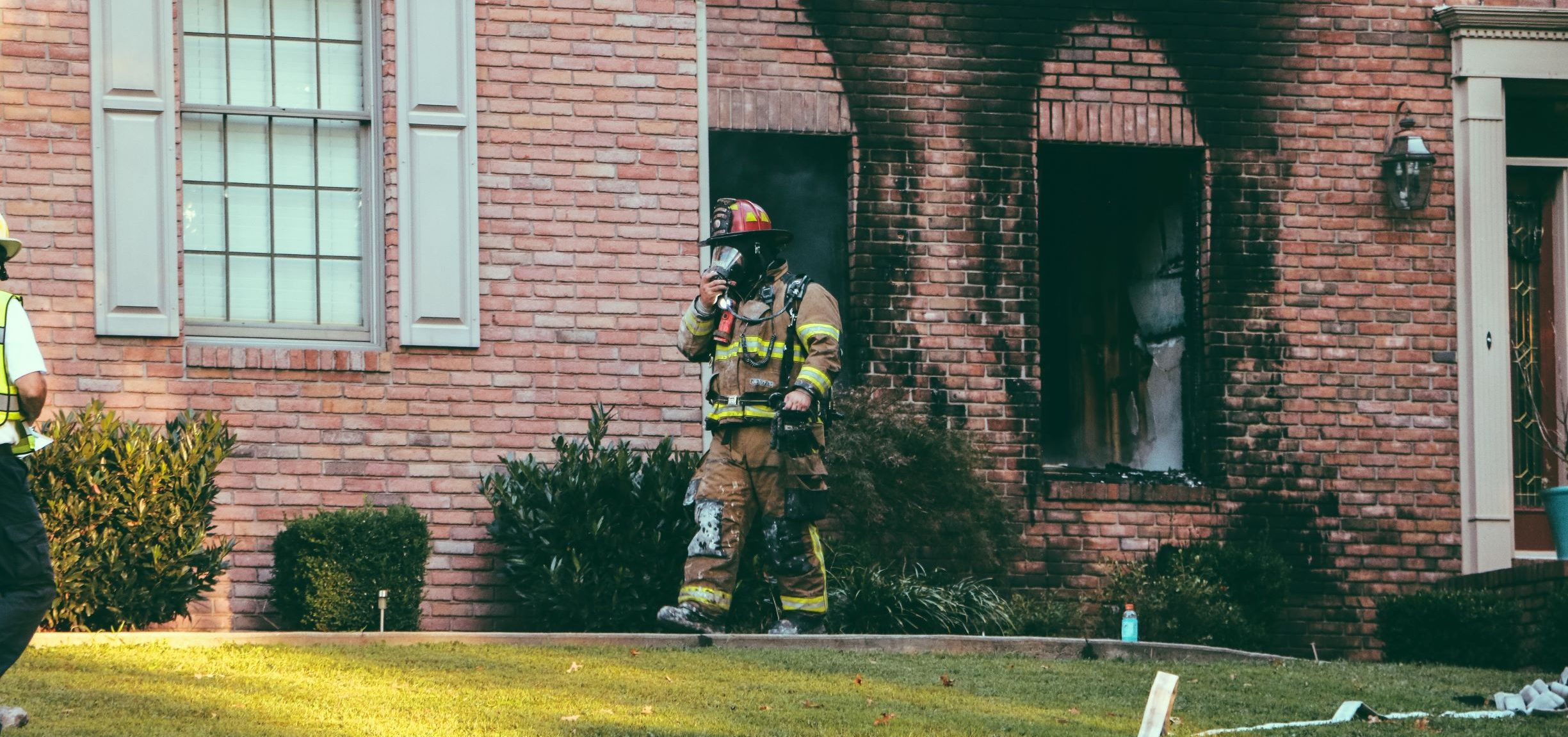 home fire restoration project